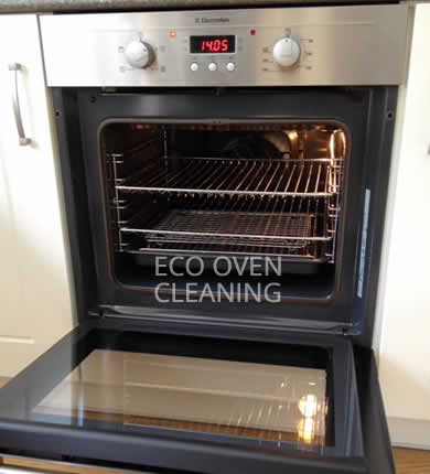 result of our oven cleaning process